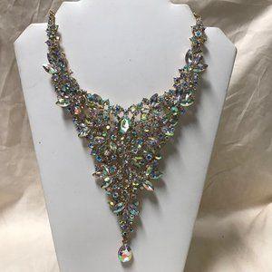 Large Triangular Statement Necklace